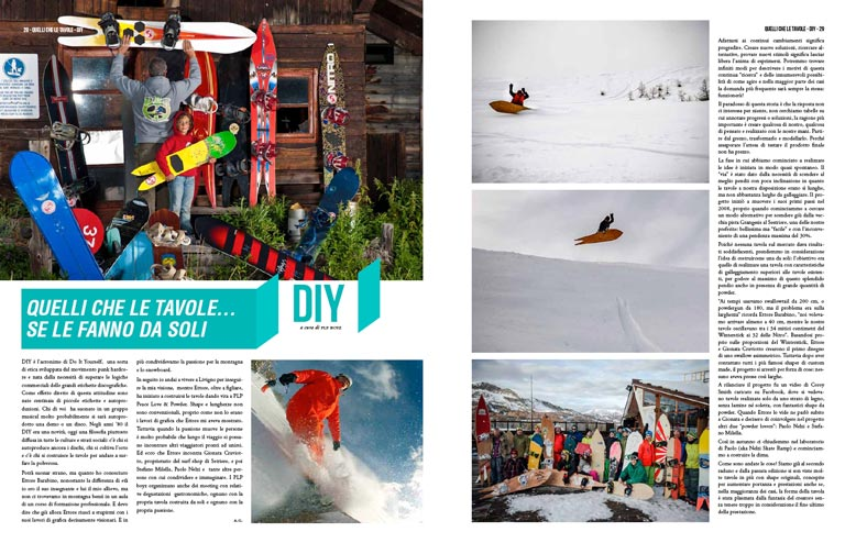 PLP BOYZ CUSTOM POWDER SNOWBOARDS