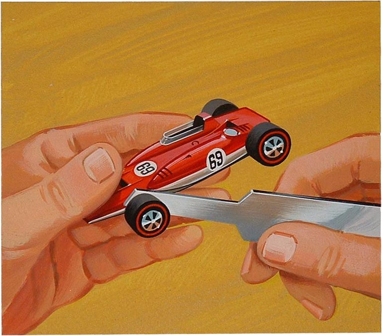 HOT WHEELS ILLUSTRATION