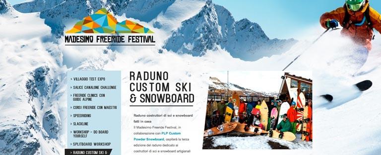 Terzo Raduno Custom Ski & Snowboard
