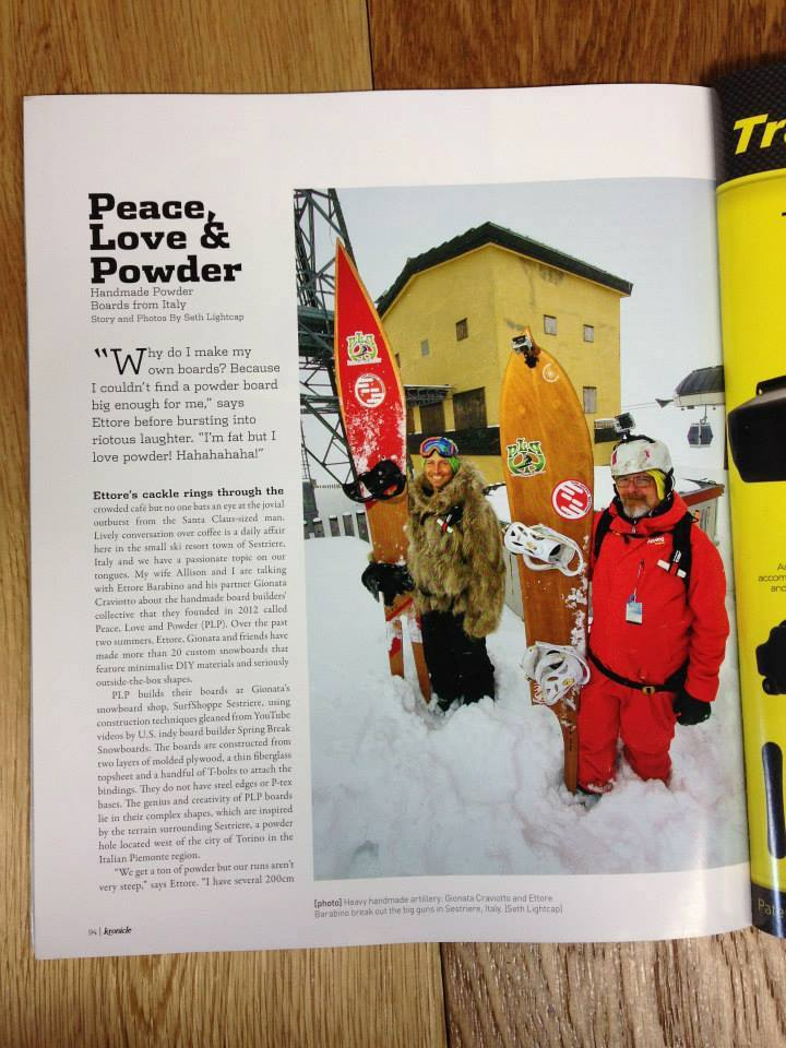 Kronicle Magazine about Peace Love and Powder-01