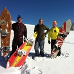 PLP CUSTOM POWDER SNOWBOARD