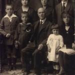 1920 Famiglia Panero nonna Lilly, la prima a dx