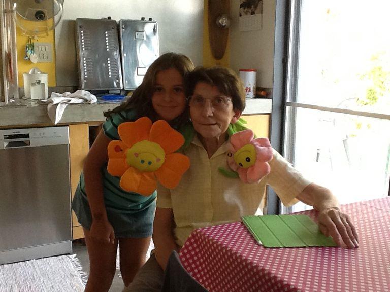 Bianca con la Nonna Anna 1