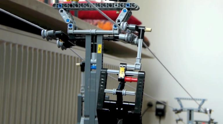 LEGO Detachable Chairlift – Ochsengipfel Express
