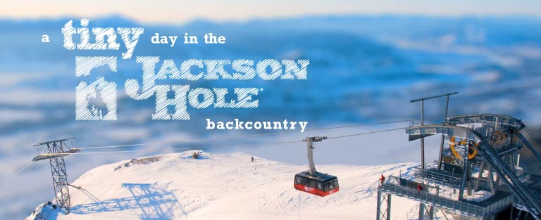 A Tiny Day in the Jackson Hole Backcountry