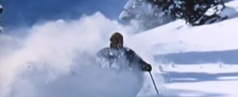 K2 Demo Team skis Snowbird powder 1971